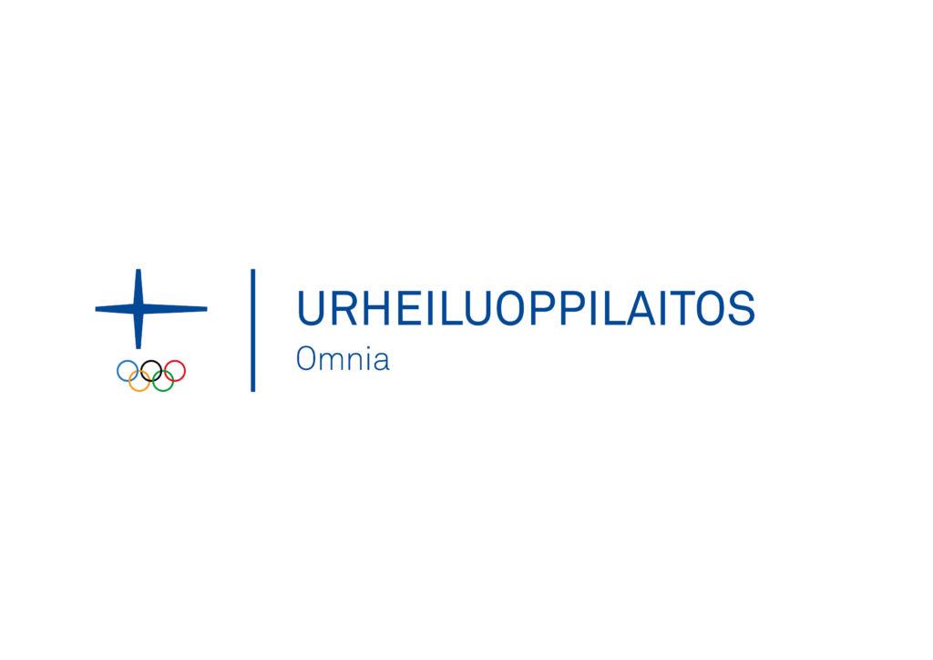 Omnian virallinen urheiluakatemia -logo