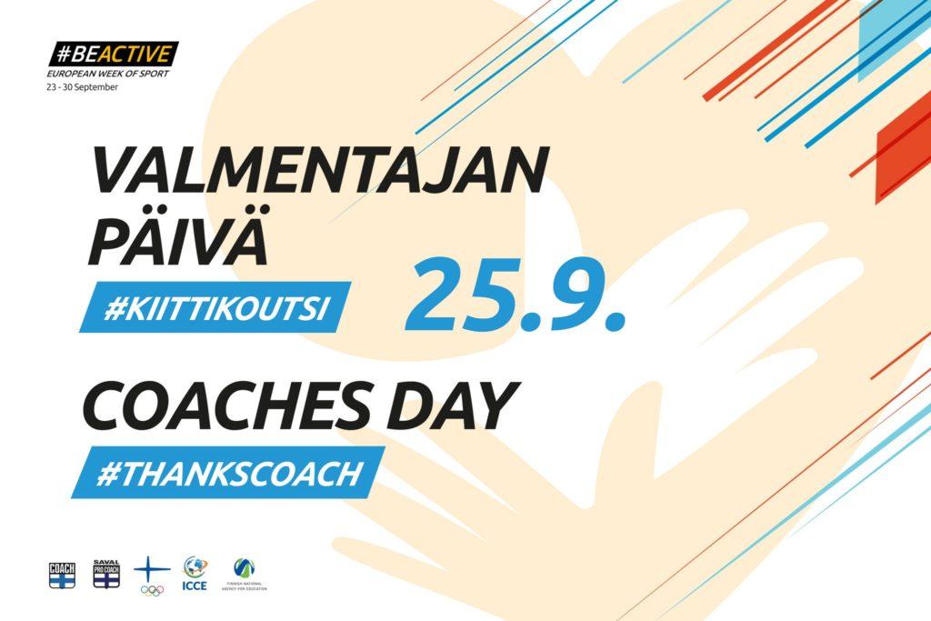 Valmentajan päivä 25.9. #KiittiKoutsi